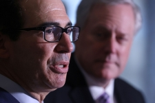 Mnuchin says relief deal could come this week; TSA screenings return to March levels