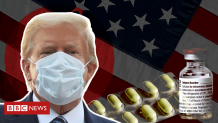Covid: The latest on Trump's health in six graphics – BBC News