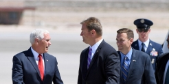 Pence cites CDC's essential-worker guidance as he continues to campaign after aides contract COVID-19