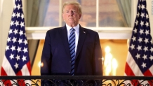 Trump delivers dark and divisive speech in first major appearance since Covid diagnosis