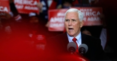 Health experts raise concerns about Pence events after aides test positive for Covid