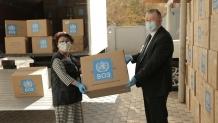 World Health Organization provided over 1.5 million medical masks to Kyrgyzstan
