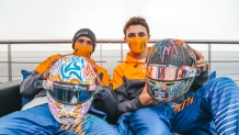 Norris and Sainz to wear personally designed helmets for World Mental Health Day