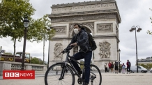 France Covid-19: Paris compulsory face-mask rule comes into force
