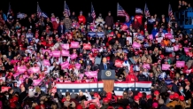 As coronavirus surges, Trump campaign rallies keep packing in thousands