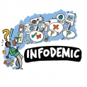 promoting healthy behaviors in the time of COVID-19 and mitigating harm from misinformation and disinformation