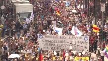 Germany coronavirus: 'Anti-corona' protests in Berlin draws thousands