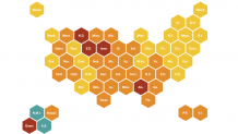 Coronavirus Update: Maps Of US Cases And Deaths : Shots