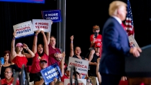Coronavirus live updates: Trump holds large indoor rally in Nevada, defying public health orders